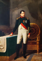 Robert Lefevre - Portrait of Napoleon Bonaparte (1769-1821) 1809