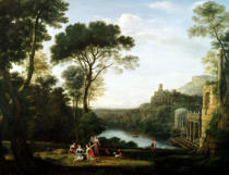 Claude Lorrain - Landscape with the Nymph Egeria