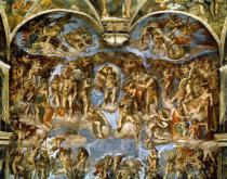 Michelangelo Buonarroti - Sistine Chapel: The Last Judgement, 1538-41