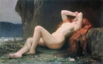 Jules Joseph Lefebvre - Mary Magdalene in the Cave, 1876