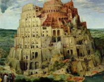 Pieter Brueghel der Ältere - Tower of Babel, 1563  (detail of 345)