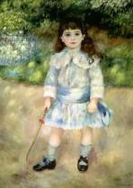 Pierre Auguste Renoir - Child with a Whip, 1885