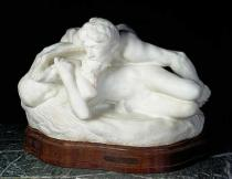 Auguste Rodin - Psyche-Spring, also known as the Suprised Nymph, or The Spring, 1886