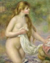 Pierre Auguste Renoir - Bather with long hair, c.1895