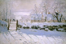 Claude Monet - The Magpie, 1869