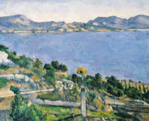 Paul Cézanne - L'Estaque, View of the Bay of Marseilles, c.1878-79