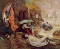 Ford Madox Brown - The Finding of Don Juan by Haidee, 1878