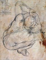 Michelangelo Buonarroti - Study for the Last Judgement