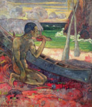 Paul Gauguin - The Poor Fisherman, 1896