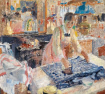 Rik Wouters - Woman Ironing, 1912