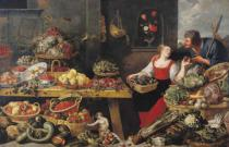 Frans Snyders - Fruit and Vegetable Market