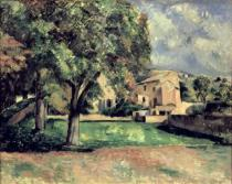 Paul Cézanne - Trees in a Park, Jas de Bouffan, 1885-87