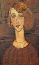 Amedeo Modigliani - Renee, 1917