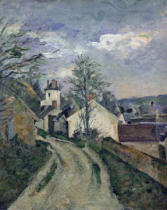 Paul Cézanne - The House of Doctor Gachet (1828-1909) at Auvers, 1872-73