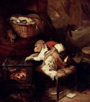 Sir Edwin Henry Landseer - The Cat's Paw