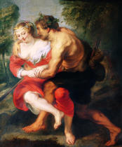 Peter Paul Rubens - Scene of Love or, The Gallant Conversation