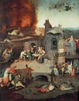 Hieronymus Bosch - Temptation of Saint Anthony, c.1500