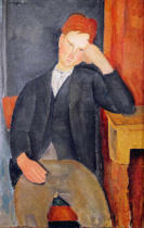 Amedeo Modigliani - The Young Apprentice, c.1917