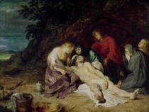 Peter Paul Rubens - Lamentation over the Dead Christ with St. John and the Holy Women, 1614