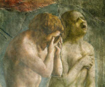 Tommaso Masaccio - Adam and Eve banished from Paradise, c.1427