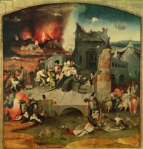 Hieronymus Bosch - Central Panel of the Triptych of the Temptation of St. Anthony