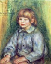 Pierre Auguste Renoir - Seated Portrait of Claude Renoir (1901-81) 1905-08