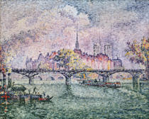 Paul Signac - Ile de la Cite, Paris, 1912