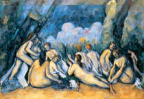 Paul Cézanne - The Large Bathers, c.1900-05