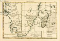 Charles Marie Rigobert Bonne - Southern Africa, from 'Atlas de Toutes les Parties Connues du Globe Terrestre' by Guillaume Raynal (1713-96) published Geneva, 1