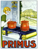 French School - Poster advertising the Primus hob, printed by Dampenon & Elarue