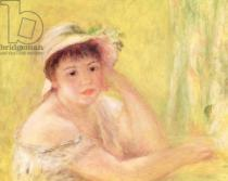 Pierre Auguste Renoir - Woman in a Straw Hat, 1879