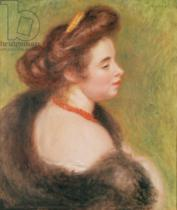 Pierre Auguste Renoir - Portrait of Madame Maurice Denis, 1904