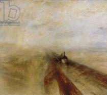 Joseph Mallord William Turner - Detail of Rain Steam and Speed, The Great Western Railway, painted before 1844