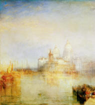 Joseph Mallord William Turner - The Dogana and Santa Maria della Salute, Venice, 1843