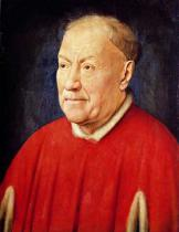 Jan van Eyck - Portrait of Cardinal Albergati