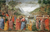 Domenico Ghirlandaio - The Calling of SS. Peter and Andrew, 1481