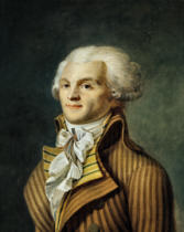 French School - Portrait of Maximilien de Robespierre (1758-94)