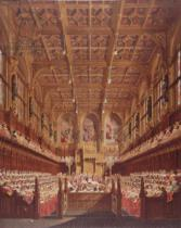 Joseph Nash - Queen Victoria in the House of Lords