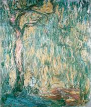 Claude Monet - The Large Willow at Giverny, 1918