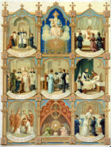 French School - The Seven Sacraments