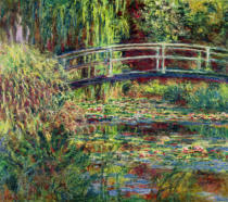 Claude Monet - Waterlily Pond: Pink Harmony, 1900