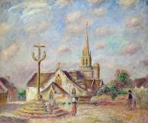 Pierre Auguste Renoir - The Calvary at Pont Aven, c.1892