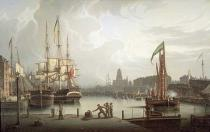 Robert Salmon - Dock Opening Ceremony, Bristol, 1828