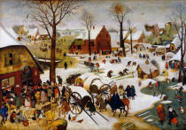 Pieter Brueghel der Jüngere - The Census at Bethlehem