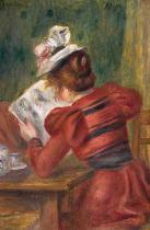 Pierre Auguste Renoir - Young Girl Reading, 1897