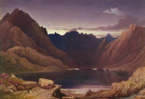 George Fennel Robson - Loch Coruisk, Isle of Skye - Dawn, c.1826-32
