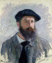 Claude Monet - Self Portrait with a Beret, 1886