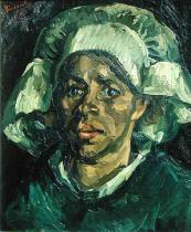 Vincent van Gogh - Peasant Woman, 1885
