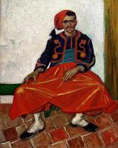 Vincent van Gogh - The Zouave, 1888