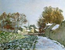 Claude Monet - Snow at Argenteuil, 1874